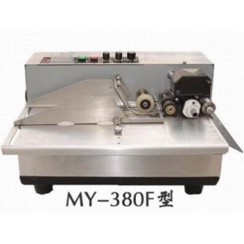河南面粉标签打码机、MY-380F自动标识机