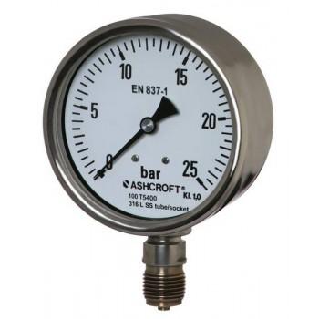 雅斯科ashcroft T5400 全不锈钢压力表