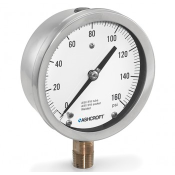 ashcroft雅斯科 1009 4.5/6 Inch 压力表