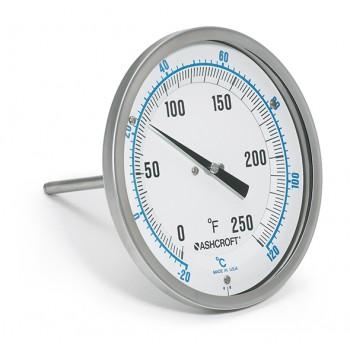 ashcroft雅斯科CI 双金属温度计