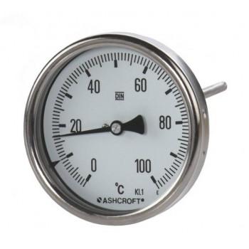 美国ashcroft全不锈钢双金属温度计A