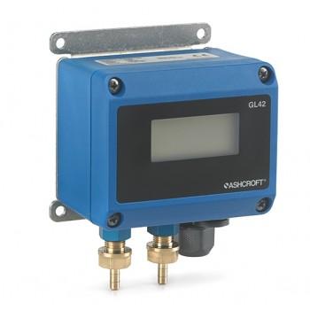 ashcroft雅斯科GL42 数显式微差压变送器