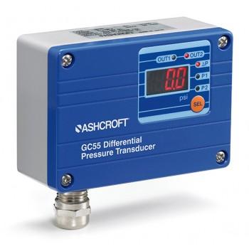 美国ashcroft GC55 湿/湿数显式差压传感器