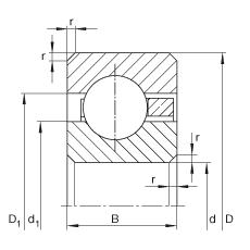 CSCA040轴承规格图
