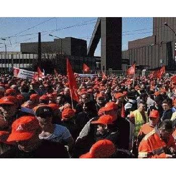 德国制造商试图化解劳动争议