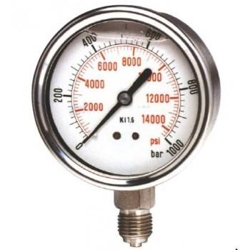 德国PKP波管压力表PMR02 - 迷你型