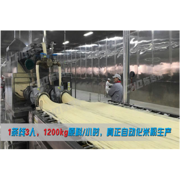 陈辉球湖南米粉机械自动化生产备受瞩目