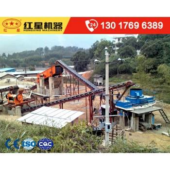 时产100-200吨鹅卵石制砂生产线全套设备配置_价格