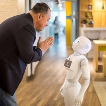 智能机器人在这里让工人的生活更美好