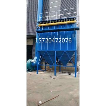 淄博市1t生物质锅炉除尘器配套火花捕捉器效果