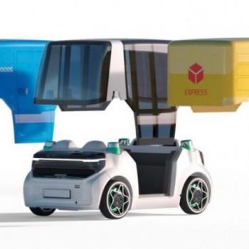 """舍弗勒展示""""太空车"""",自动驾驶的里程碑"""