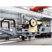 时产200吨的小型公路碎石机价格实惠JYX77