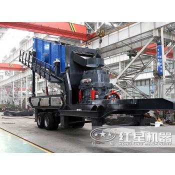可移动建筑垃圾粉碎机时产280吨价格JYX77