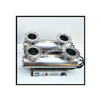 紫外线消毒器水处理设备 管道式消毒 过流式 杀菌灯污水处理设备