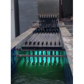 供应大型框架式不锈钢消毒设备 明渠式紫外线消毒器