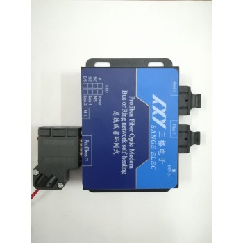总线式Profibus-DP转光纤、Profibus光猫使用说明书(工业级,可以总线式也可以环网式)