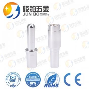 工厂直销新能源充电枪扭簧插孔 线簧式镀银大电流连接器公母插头
