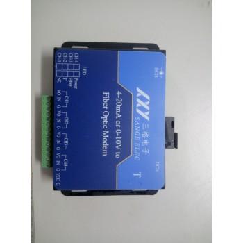 三格4-20mA电流或者0-10V电压转光纤_模拟量光猫