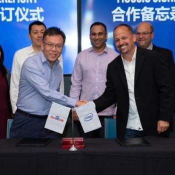 英特尔,百度签署3年协议,在云,AI,5G方面进行合作
