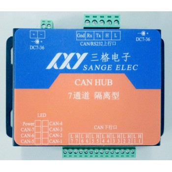 三格电子CAN集线器