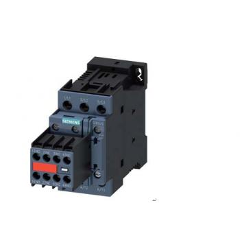 接触器,AC-3,15kW/400V,2NO + 2nc,直流24V,三极,S0螺丝端子永久辅助。在苏瓦应用的开关。