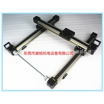 龙门架滑台模组 直线导轨 双轴心导轨线性模组 单多轴电动直线滑台