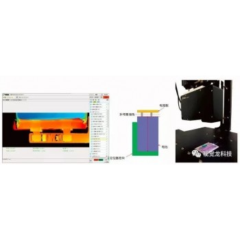 VD300系列3D相机在锂电行业的应用—电池极耳折弯测量项目