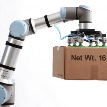 协作机器人帮助企业完成繁重的工作任务