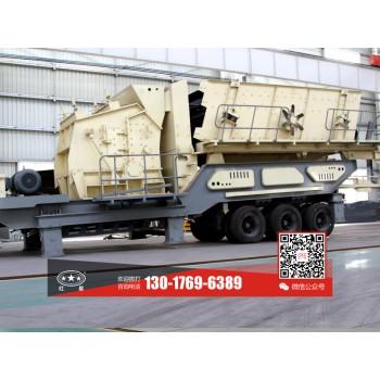 一天生产1000方石粉的一体式鄂破粉石机JYX82