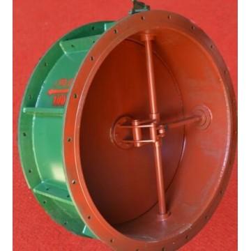 手动密闭阀门D40J/X-0.5型单连杆DN400风量调节阀门