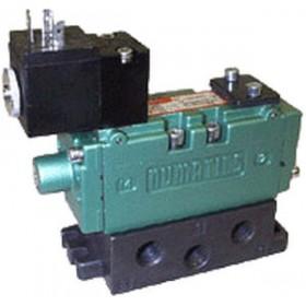 NUMATICS电磁阀气动,螺线管驱动,4通,2位5通ISO 5599/1