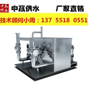浙江义乌污水提升泵站设备