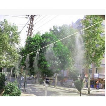 酒吧喷雾降温  酒吧喷雾降温价格  步行街喷雾降温设备