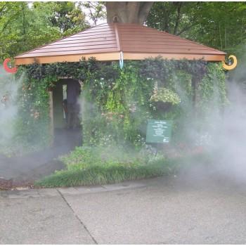 酒吧喷雾降温装置  步行街喷雾降温  酒吧喷雾降温设备