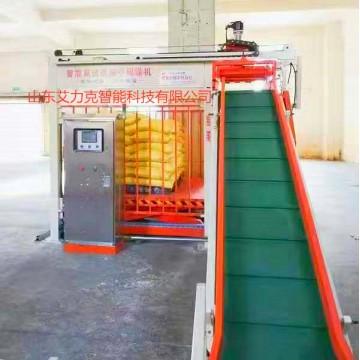 全自动重袋包装装箱码垛生产线设备、码垛机