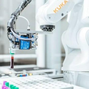 Kuka机器人每天可采集3000个血液样本
