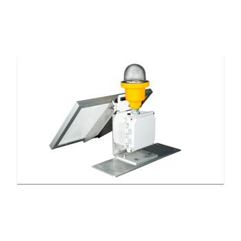 Point Lighting边界灯,便携式或永久性太阳能LED障碍灯POL-22001-SOL