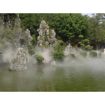 景观造雾降温人造雾造雾机