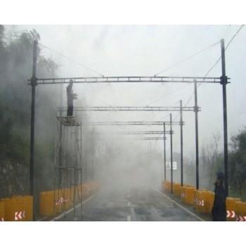 模拟隧道及模拟雨雾天 模拟雨雾天行驶 淋雨感应系统