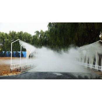 淋雨控制系统 雨天考模拟雨雾天 整车淋雨试验系统