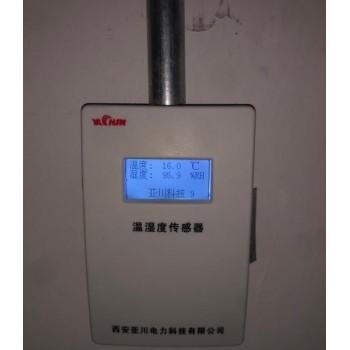 车库与办公区域的空气质量探测器YK-PF-CO在江苏汇鸿国际集团施工布线图片