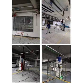 山丹县ZHGAC-01空气质量控制器在地下车库中应用 消防应急余压监控系统